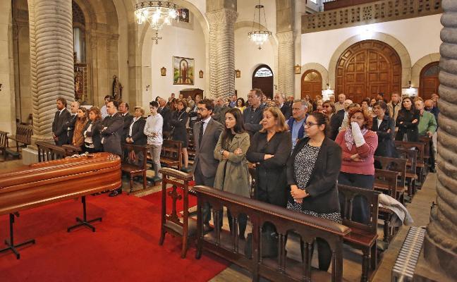 Gijón despide al empresario Alfredo Fombella