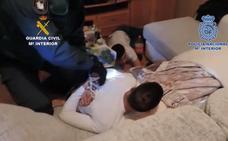 Desmantelada una banda en Ciudad Real por traficar con armas y drogas y atracar negocios y domicilios