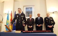 El nuevo jefe superior de Policía promete «redoblar esfuerzos» para que Asturias siga entre las regiones más seguras
