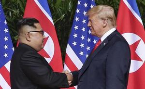 Trump da por acabada la amenaza nuclear