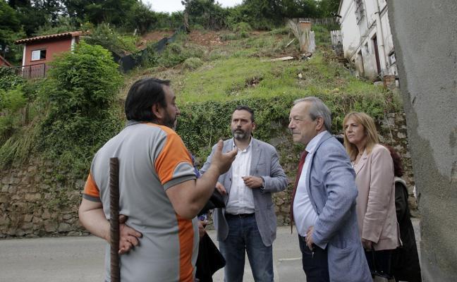Servicios Sociales realojará a los cinco vecinos afectados por las lluvias en Trubia