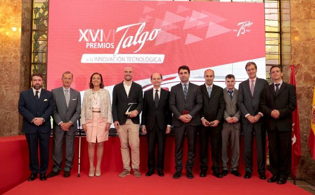 La empresa Talgo premia un estudio del campus de Mieres