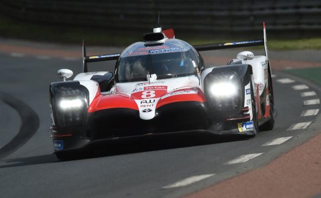 El equipo Toyota de Fernando Alonso, segundo en la sesión de libres de Le Mans