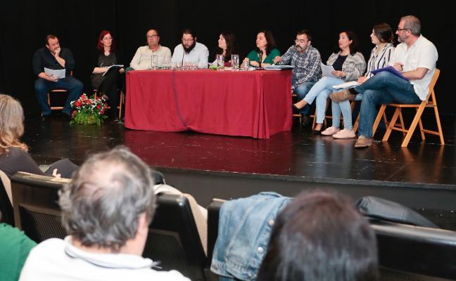Del Fueyo recuerda que «la confluencia con IU es una decisión que ya está tomada»