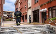 Incendio sin heridos en un piso de Llanes
