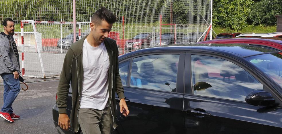 Jony jugará la próxima temporada cedido en el Alavés de Abelardo
