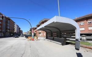 La marquesina de El Pozón se trasladará a la calle Río Cares de Llaranes