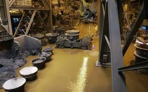 Arcelor adelanta al lunes el arranque de la acería de Avilés