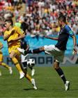 Francia - Australia, en imágenes