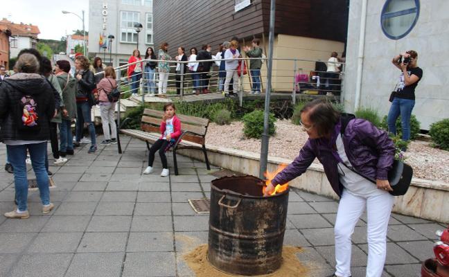 Las estudiantes de Gozón abogan por unas fiestas sin sexismo