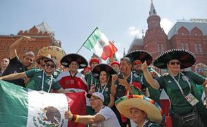 Los hinchas iberoamericanos, los más visibles en el Mundial de Rusia