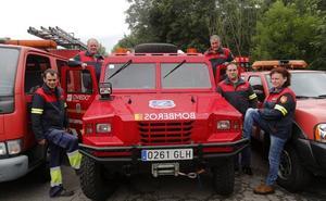 Los héroes voluntarios de Trubia