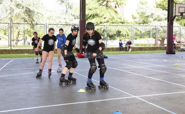 La 'Folixaludable' llena de ocio y deporte el Polígono de Pumarín