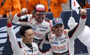 Fernando Alonso, tras su victoria en Le Mans: «Unirme a estas carreras históricas me hace sentirme orgulloso»