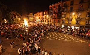 La plaza de Pedro Menéndez acogerá el sábado la hoguera de San Juan