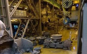 Arcelor retoma la producción en la acería de Avilés tras una semana parada por las lluvias