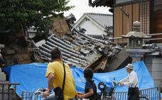 Un terremoto en la región japonesa de Osaka deja cuatro muertos y 380 heridos