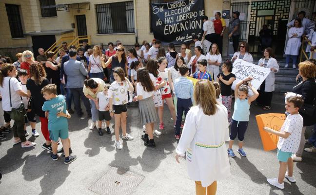 Sotrondio y Figaredo piden flexibilizar la ratio de alumnos para no cerrar aulas