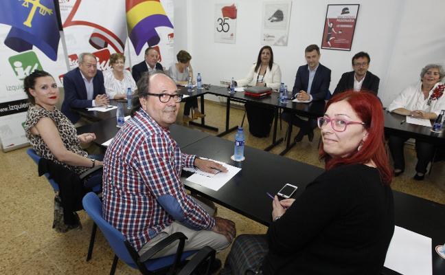 PSOE y Xixón destacan la «sintonía en el diagnóstico» con IU para la moción
