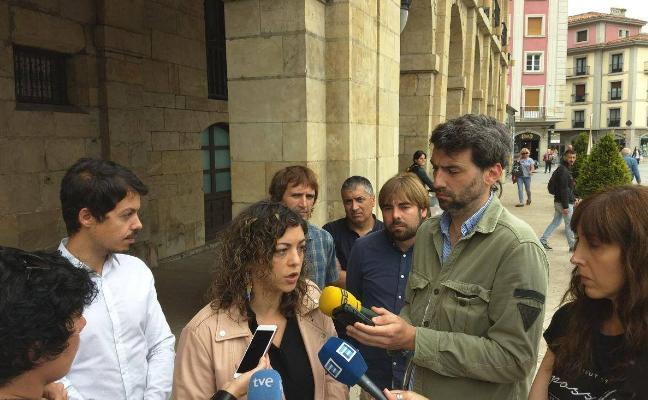 Podemos exige al nuevo Gobierno la supresión de la barrera ferroviaria de Avilés