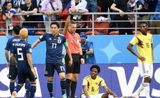 Las imágenes del Colombia - Japón del Mundial de Rusia 2018