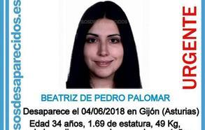 Buscan a una joven de 34 años desaparecida en Gijón