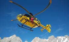Rescatan a una senderista que resultó herida en una ruta en Picos de Europa