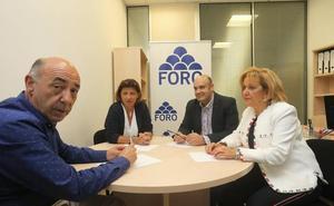 Pedro Leal a Cristina Coto: «En Foro ha trabajado mucha más gente que ella»