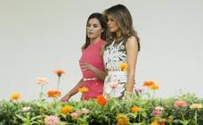Letizia Ortiz y Melania Trump, cara a cara