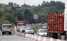 Las obras en la 'Y' vuelven a provocar retenciones kilométricas en sentido Gijón y Oviedo