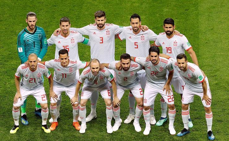 España-Irán, en imágenes