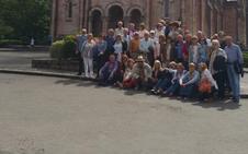 Reunión de la promoción de médicos en Covadonga