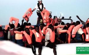 Benetton usa imágenes del rescate del Aquarius para una campaña publicitaria