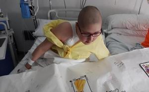 Iris Suárez ingresa la próxima semana para someterse al trasplante de médula