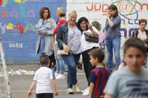 Fiesta fin de curso en el colegio de La Milagrosa de Gijón