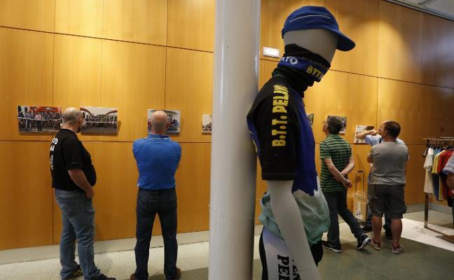 Exposición sobre los 25 años de la Vuelta a Gijón