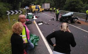 Seis muertos en seis días en las carreteras de Asturias