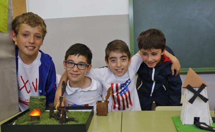 Feria de la Ciencia en el colegio los Pericones de Gijón