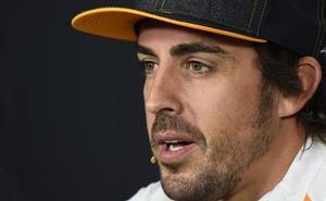 Fernando Alonso: «Estoy deseando volver a subirme al coche y correr de nuevo»
