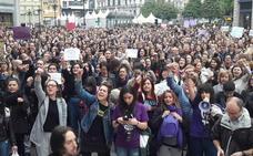 La Plataforma Feminista d'Asturies sale a la calle y convoca concentraciones mañana a las 19 horas