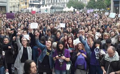 La Plataforma Feminista d'Asturies sale a la calle y convoca concentraciones a las 19 horas