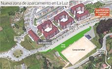 El nuevo aparcamiento de La Luz tendrá 150 plazas y sale a licitación en 199.563 euros