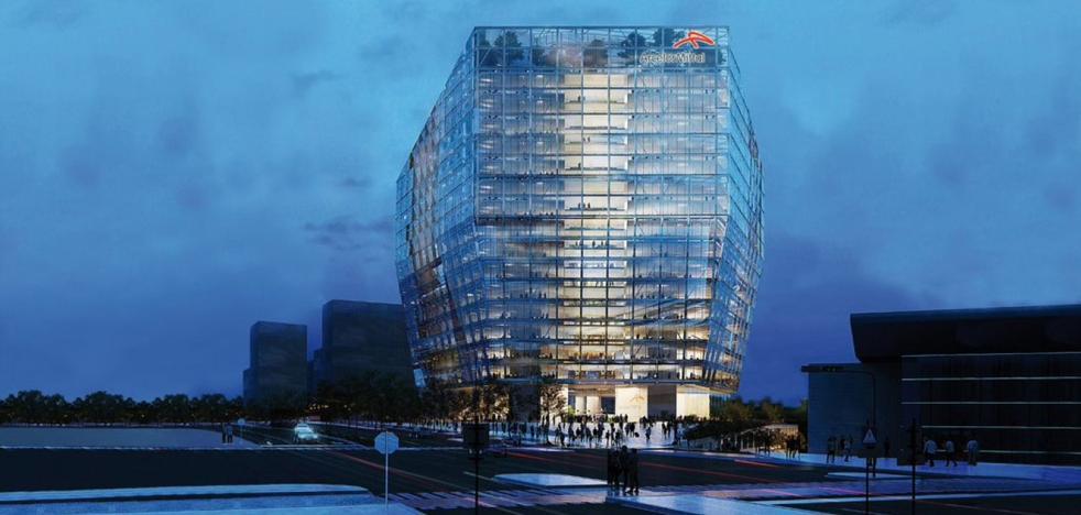 La planta de Arcelor de Avilés producirá acero para construir edificios reciclables