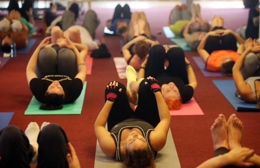 Día del Yoga en Las Caldas