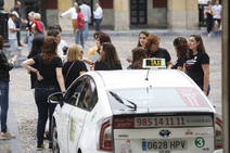 Entrega de diplomas del Curso de Defensa Personal para mujeres taxistas de Gijón