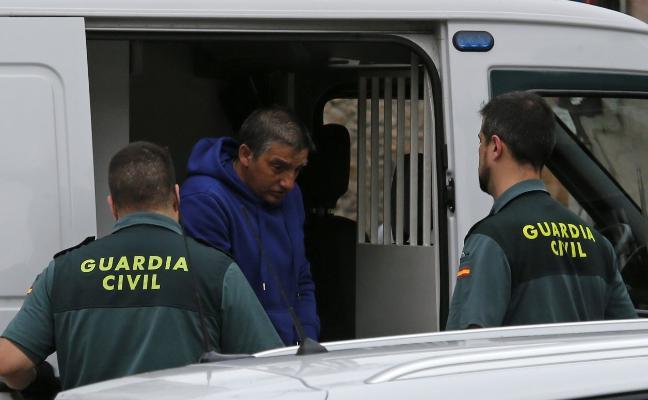 'El Araña' comparece en el Juzgado de Grado, que decidirá si sigue en prisión