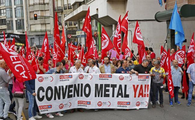 «El metal no será motor de la economía asturiana si no hay contrapartida salarial»