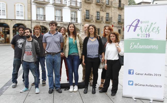 Tania González, secretaria general de Podemos en Avilés