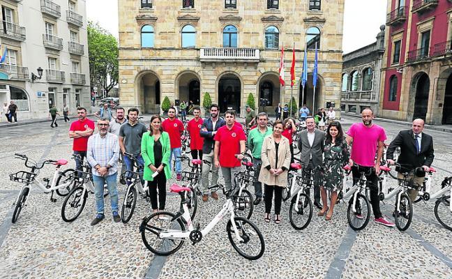 El alquiler de bicis a través del móvil ya está en marcha