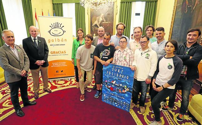 200 niños surfearán en San Lorenzo por motivos solidarios